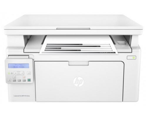 МФУ HP LaserJet Pro MFP M132nw RU, лазерный принтер/сканер/копир A4, 1200dpi, 22 ppm, 256 Mb, 1 tray 150, USB/LAN/Wi-Fi, Flatbed, Cartridge 1400 pages & USB cable 1m in box, 1y warr., замена CZ178A M125rnw