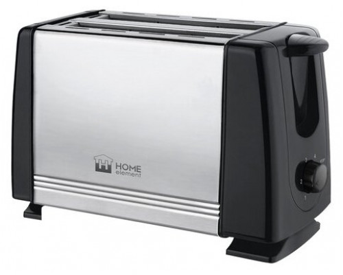 Тостер HOME ELEMENT HE-TS500 серый гранит