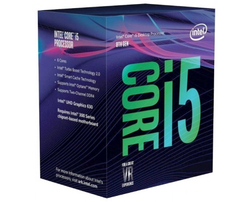 Процессор Intel Original Core i5 8500 Soc-1151v2 (CM8068403362607S R3XE) (3GHz/Intel HD Graphics 630) OEM