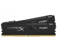 Память оперативная Kingston 32GB 3000MHz DDR4 CL15 DIMM (Kit of 2) HyperX FURY Black