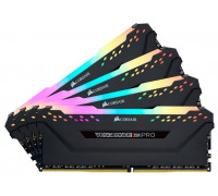 Оперативная память Corsair DDR4 4x16Gb 3200MHz CMW64GX4M4C3200C16 RTL PC4-25600 CL16 DIMM 288-pin 1.35В